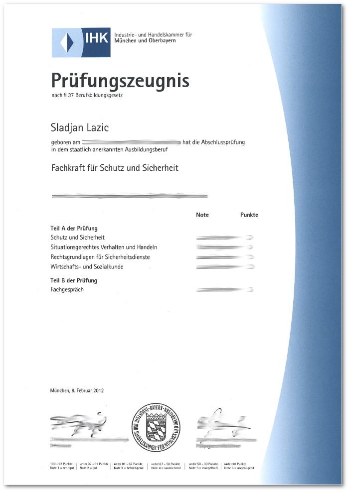 Ausbildung im Sicherheitsdienst - Karriereboss.de