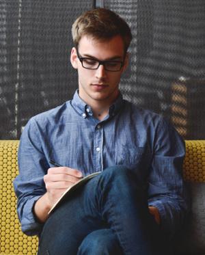 introvertierter Mensch